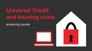 Universal Credit and housing costs course