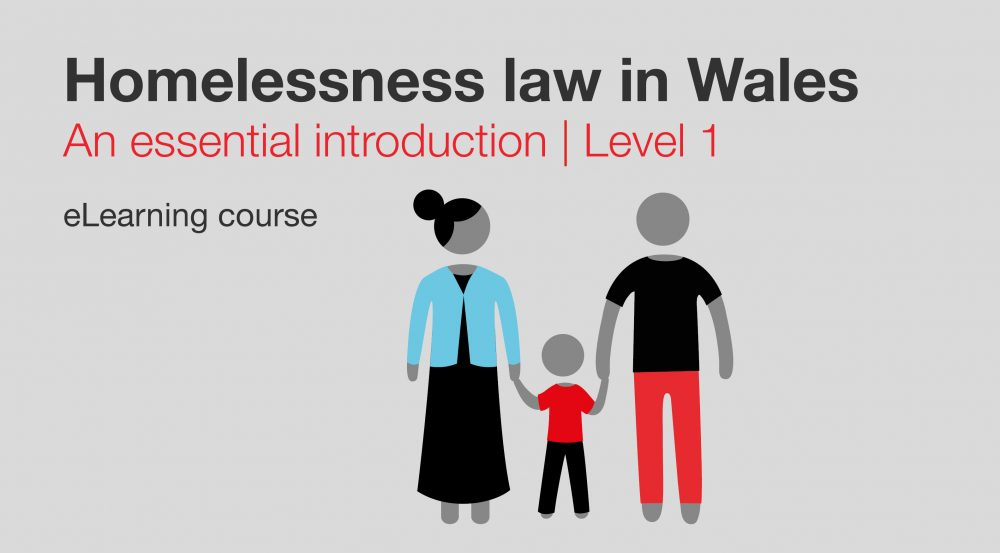 Homelessness law in Wales L1
