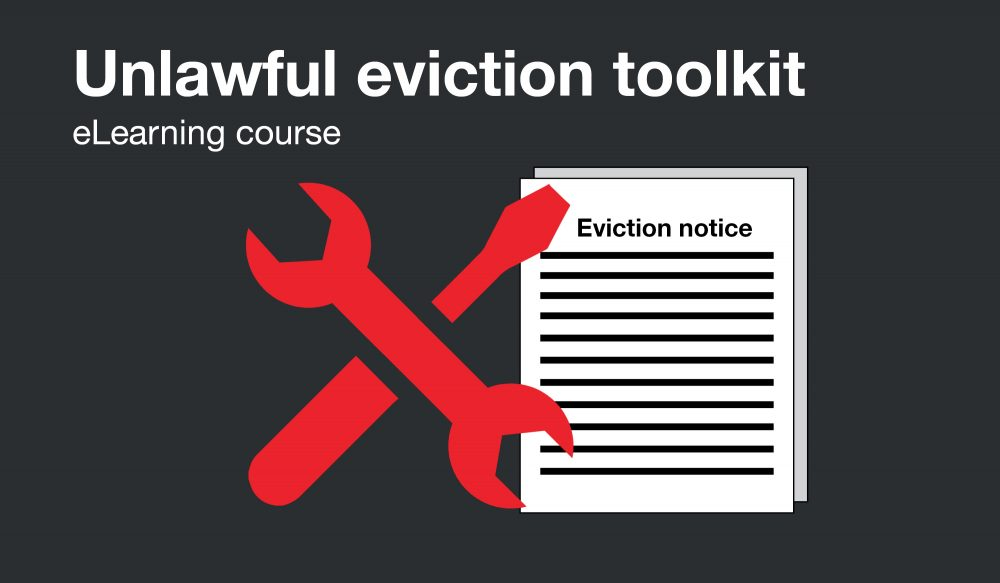 Unlawful eviction toolkit
