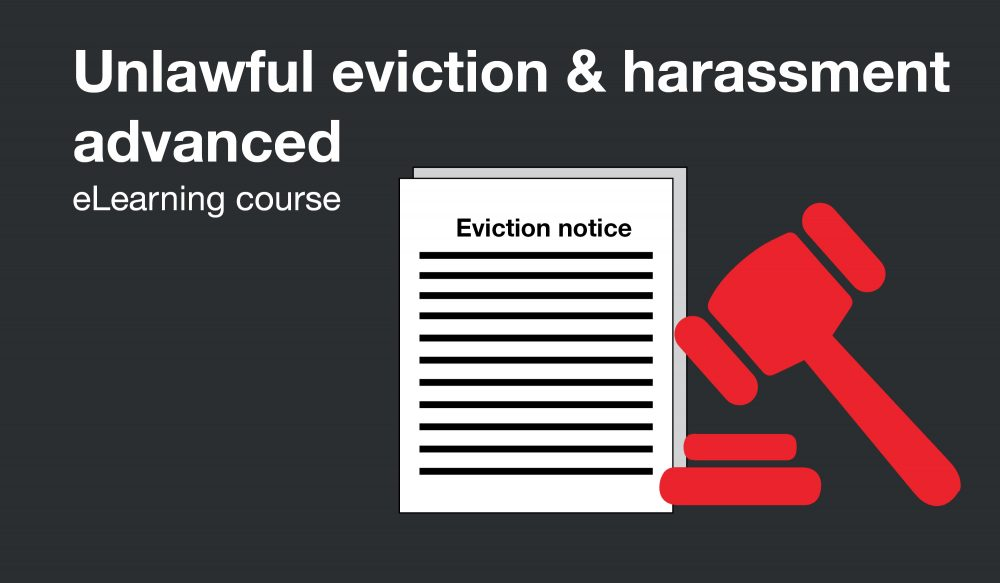 Unlawful eviction and harassment